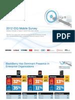 2012 Mobility Study
