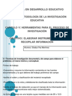 HERRAMIENTAS PARA EL PROCESO DE LA INVESTIGACION