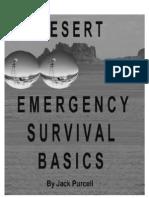 Desert Emergency Survival Basics
