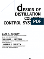 Design of Distillation Column Control Systems (1985)