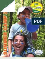 2012 JCC Summer Camp Brochure