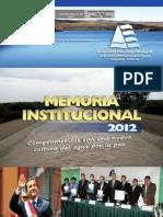 Revista Institucional Autoridad Administrativa Del Agua Chaparra Chincha
