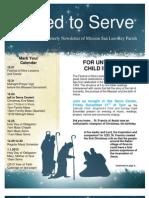 MSLRP December Newsletter