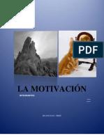 LA MOTIVACIÓN (monografía)