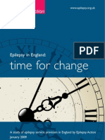 Epilepsy in England - Time for Change Report