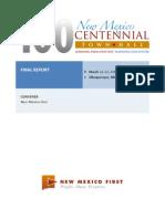 New Mexico Centennial Town Hall Final Report