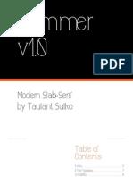 Sulko Taulant Font Application