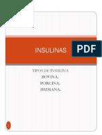 Tema 15 Insulinas