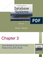 Data Modeling Using the Entity-Relationship (ER) Model