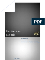 Crear y utilizar banners en joomla