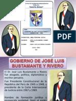 JOSÉ LUIS BUSTAMANTE Y RIVERO