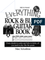 _Everything Rock and Blues Guitar Book