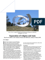 Separation of Religion and State