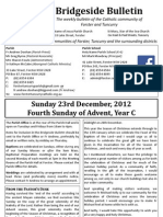2012-12-23 - 4th Advent, Year C