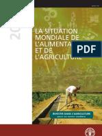 La situation mondiale de l'alimentation et de l'agriculture