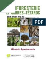 Programme Agroforesterie Trogne Decembre 2012 Memento Plantation