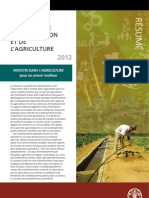 RÉSUMÉ _La situation mondiale de l'alimentation et de l'agriculture_