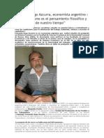 Entrevista a Fernando Azcurra