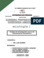 Contaminación de Aire en Huancayo