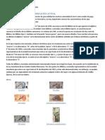 BILLETES Y MONEDAS DE FABRICACIÓN ACTUAL