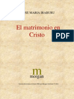115235542 Iraburu Jose Maria El Matrimonio en Cristo