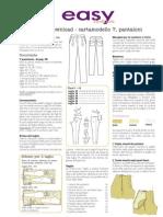 Pantalon 007 Con Pinzas Talla 34 a 42 Burdafashion Instrucciones Italiano