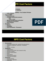 Session 9 - MPD Cost Factors