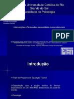 IX Salao de Iniciação Científica PUCRS 2008 - Pensando a Sexualidade e seus Discursos - Daniel Dall'Igna Ecker