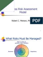 Process Risk Assessment Model