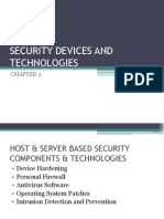 Chapter 3 - Security Devices and Technologies