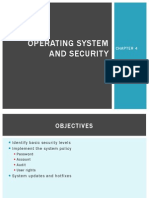 Chapter 4 - Operating System and Security