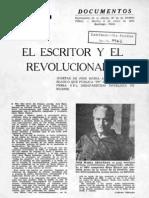 Intercambio epistolar entre Arguedas y Hugo Blanco