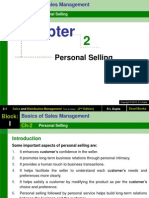 Ch-02 (Personal Selling)