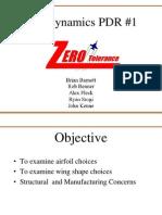 ZT Aerodynamics PDR1