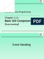 Chapter 2.2 Basic GUI Components