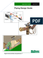 Refrigerant Pipe and Accessories Installation Method