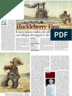 Pietro Citati Su Huckleberry Finn - Corriere Della Sera 22.12.2012