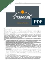 Glossario e Manuale SHADECALC
