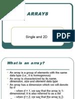 3 Arrays