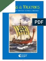 77274254 Vikings Valkyries Supplement for Mazes Minotaurs RPG