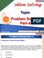 Problem Solving Part 4