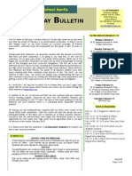 HS Bulletin 02.06.09