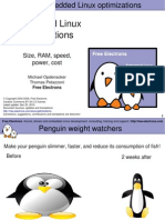 Embedded Linux Optimizations