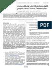 Bilateral Temperomandibular Joint Ankylosis With a Rare Radiographic and Clinical Presentation