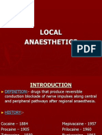 LOCAL ANAESTHETICS PPT BY DR. CHANDKIRAN YADAV.ppt
