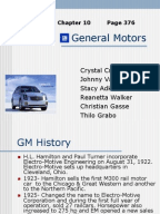 Gm Competitive Advantage And Market Analysis Pdf