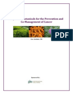 White Paper - Important Botanicals for the Prevention and Co Management of Cancer