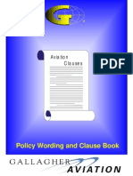 Aviation Clause Blue Book