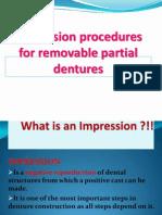 RPD Impression