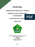 Proposal Mushalla Man